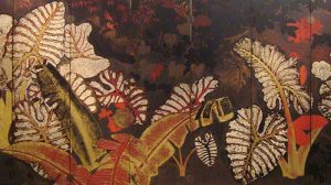 Vietnamese Lacquer Painting