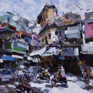 hanoi-street-langscape
