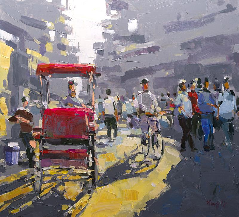 Hanoi Twilight – Hoang Minh – 110×100 – 1