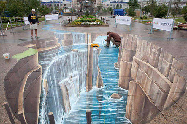 3D Street Painting