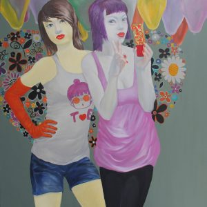 90x110cm-two-girl-and-the-balls