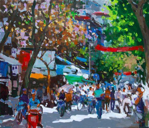 A happy day in Hanoi, Vietnam Artists