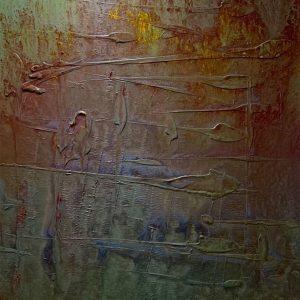 Ancient Knowledge II - vietnamese acrylic paintings