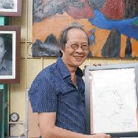 Artist Dang Huy Quyen