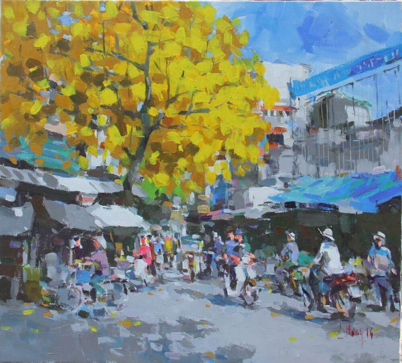 Autumn in Hanoi, Vietnam Artworks