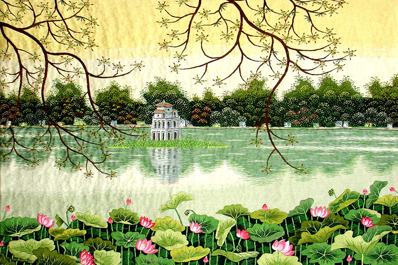 Beauty and Meaning of Lotus in Vietnamese Art