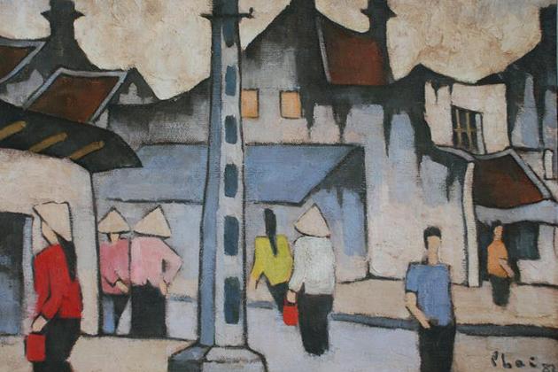Bui Xuan Phai Paintings