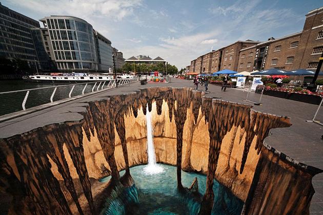 Cave - Edgar Mueller 3D Painting