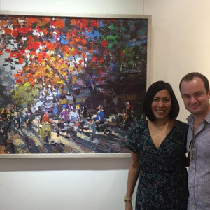 Client 1 of Nguyen Art Gallery