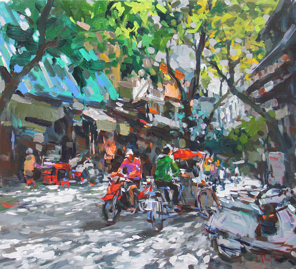 Contrast sunlight 1, Vietnam Artworks