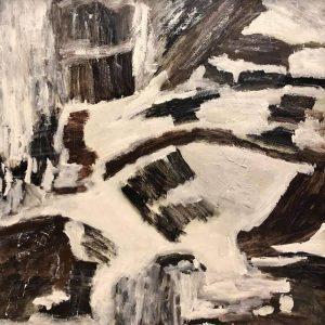 Dear Snow - acrylic paintings by artist trinh thang