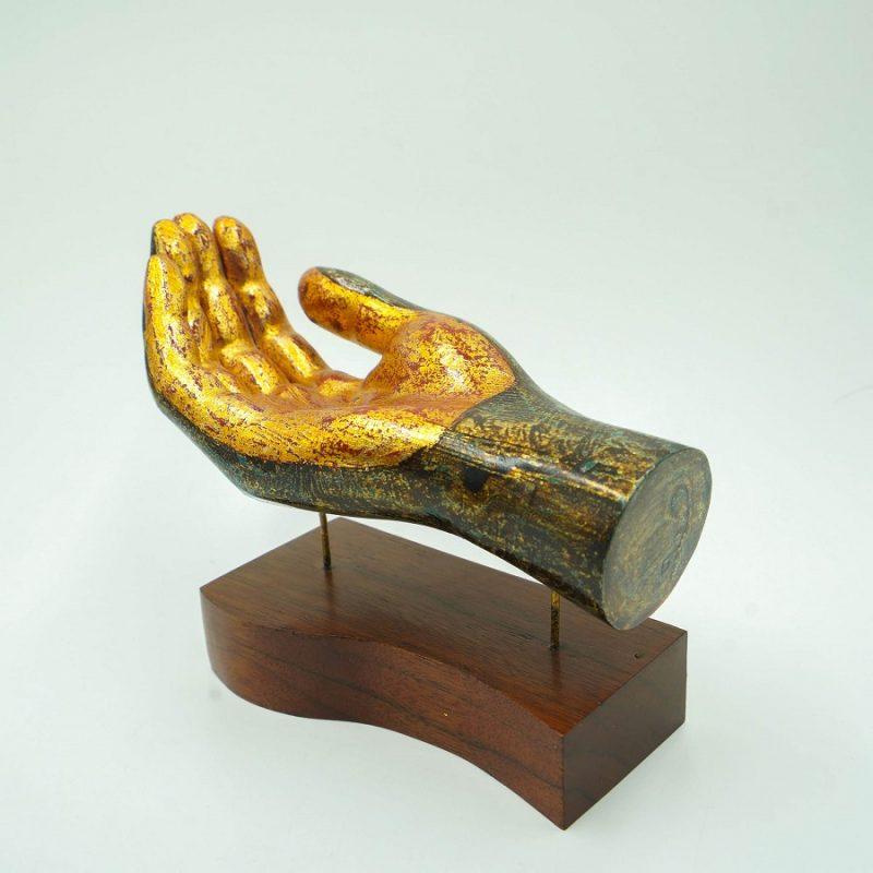 Decorative Palm Up Sculpture