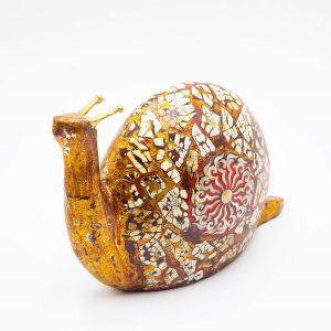 Decorative Lacquer Snail - Vietnamese Lacquer Artworks