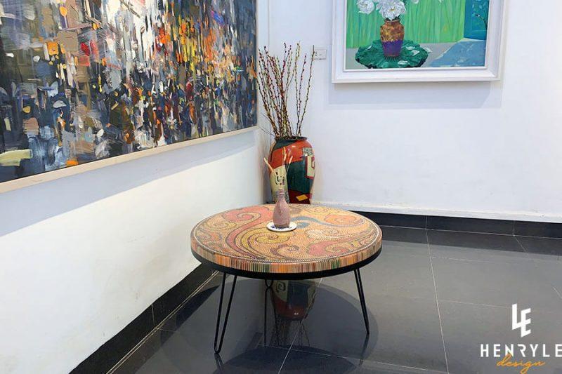 Elysium Colored-Pencil Coffee Table I 2