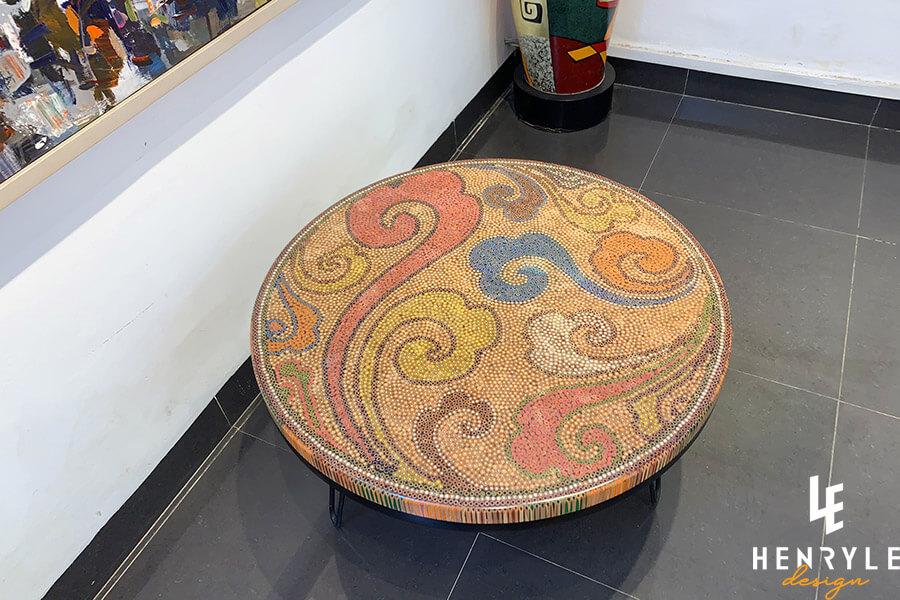 Elysium Colored-Pencil Coffee Table I 3