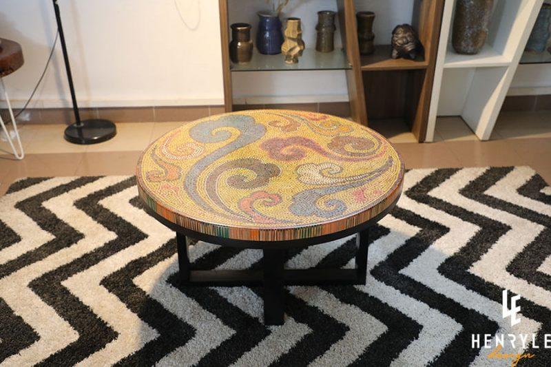 Elysium Colored-Pencil Coffee Table II 2