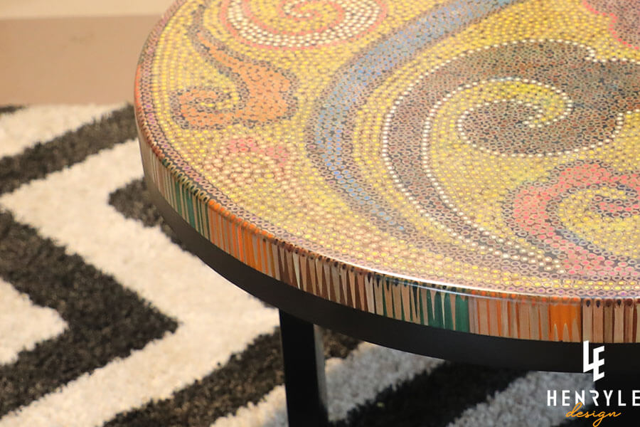 Elysium Colored-Pencil Coffee Table II 3