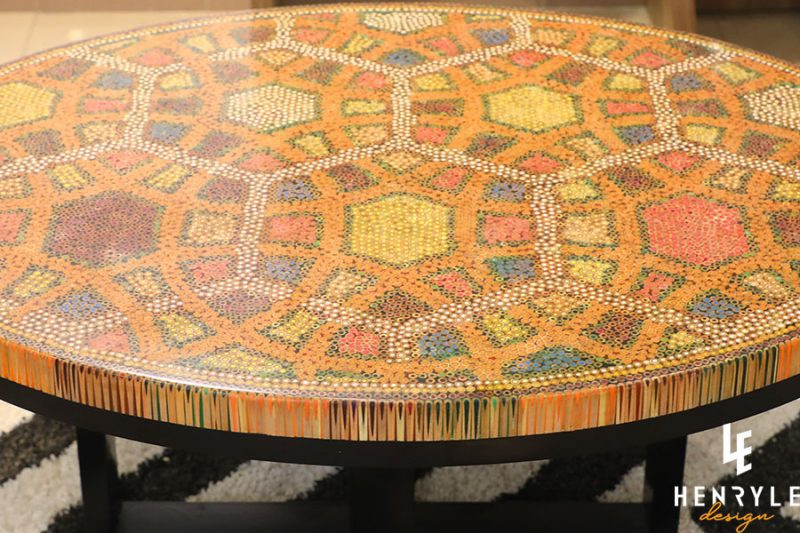 Endless Bound Colored Coffee Table 1