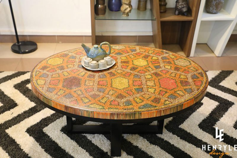 Endless Bound Colored Coffee Table 4
