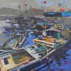 Erning in living, 60 x 80cm, Vietnam Art Paintings