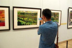 Exhibition Celebrates Wood Block Paintings