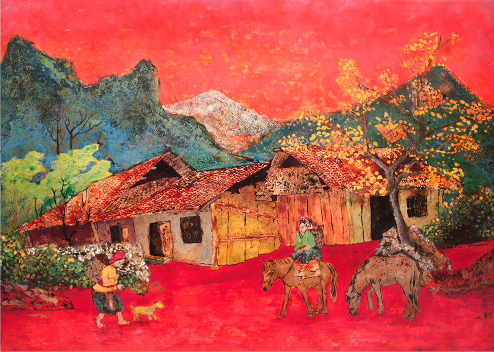 Flaming red twilight, Best Gallery in Vietnam