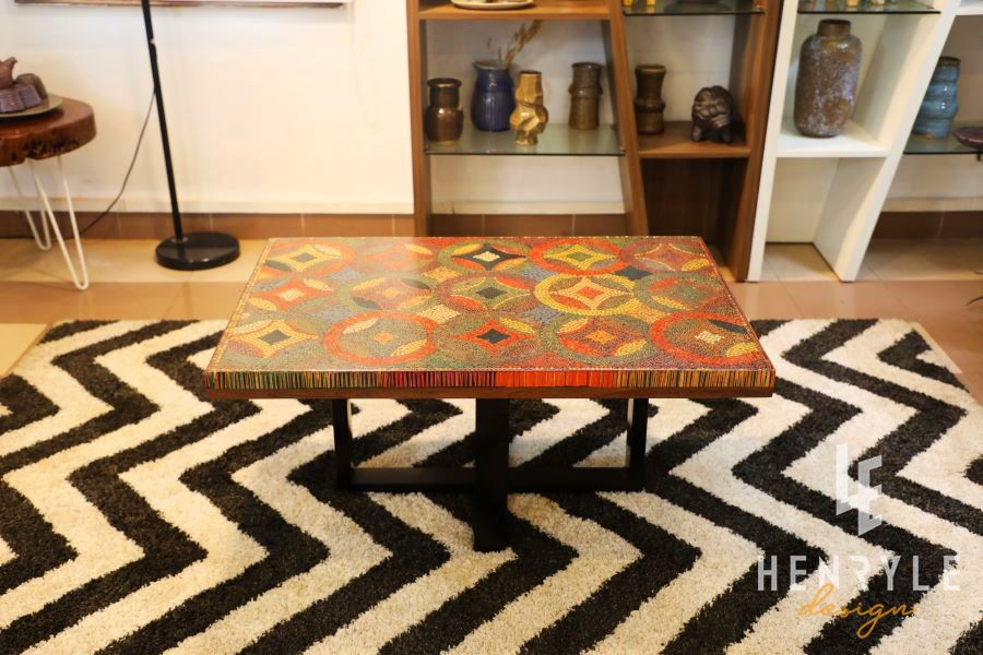 Flow of Property Colored-Pencil Coffee Table 8