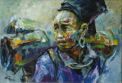 Frontier Area Exhibition by artists Mai Huy Dzung