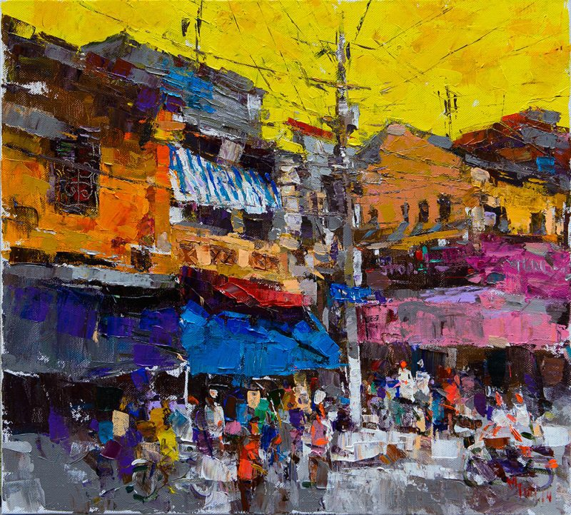 Hang Duong Street Corner