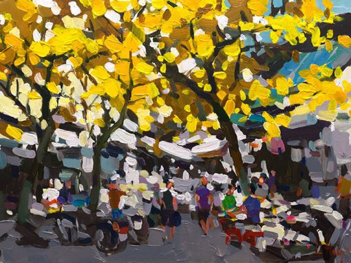 Hanoi Autumn, Vietnam Artists