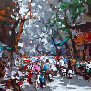 Hanoi Early Winter, Vietnam Artworks
