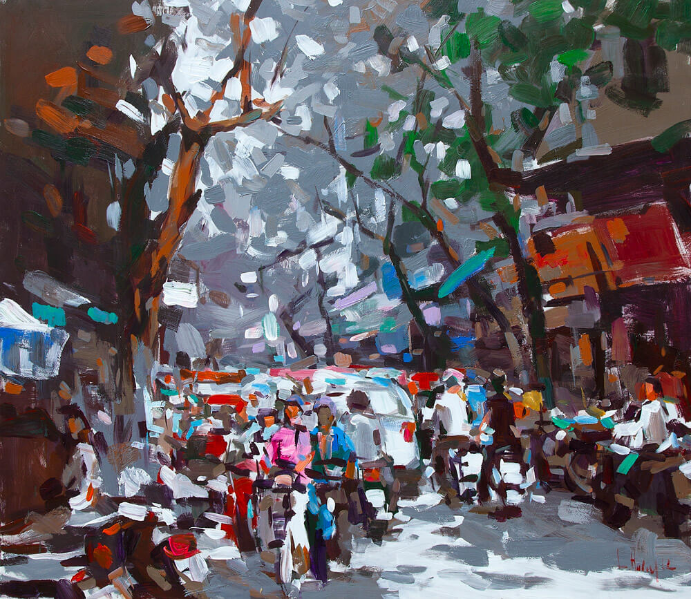 Hanoi Early Winter, Vietnam Artworks
