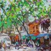 Hanoi Old Quater 2, Vietnam Artworks