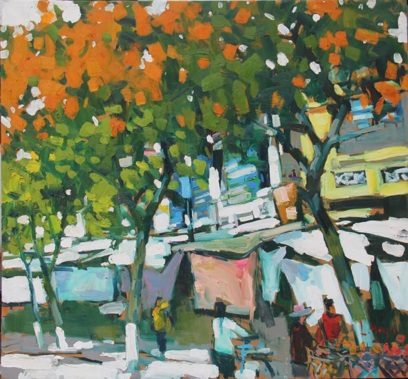 Hanoi Old Quater 5, Best Vietnam Artworks