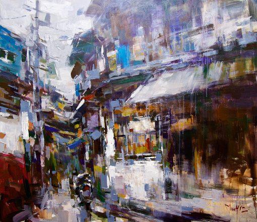 Hanoi Street Corner 3