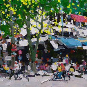 Hanoi Street Spring Turn, Vietnam Artists
