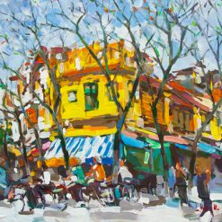 Hanoi Street in Autumn, Best Art Gallery in Vietnam
