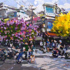 Hanoi Summer Turn, Vietnam Art Gallery