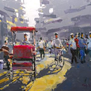 Hanoi Twilight