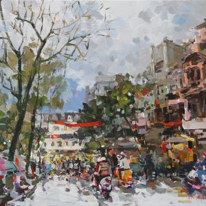 Hanoi in the afternoon 1, Art gallery in Hanoi