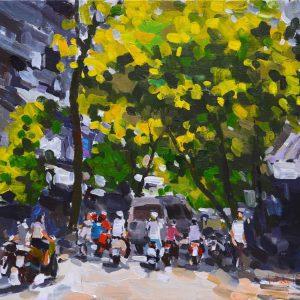 Hanoi in the autumn, Vietnam Artworks