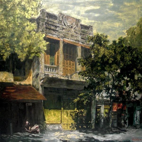 Hanoi in the fall 100×100