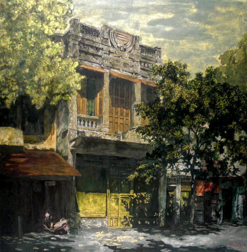 Hanoi in the fall 100x100