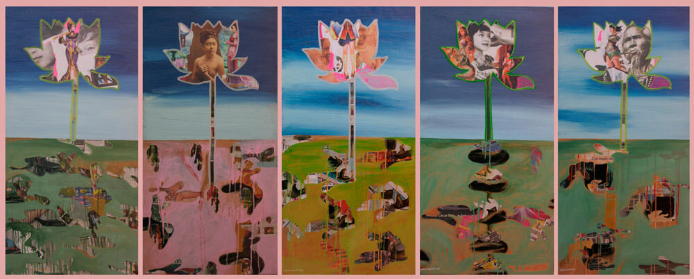 In the Name of the lotus, Vietnam Art Gallery
