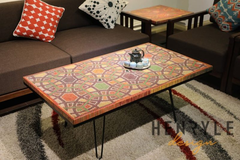 Infinity and Beyond Colored-Pencil Coffee Table 15