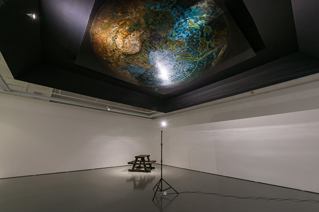 Installation and experimental lacquer