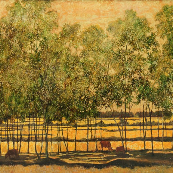 Landscape II 80×120 cm