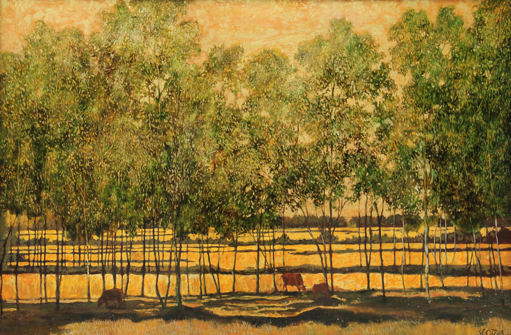 Landscape II 80x120 cm