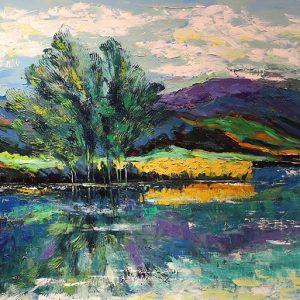 Larkspur lake - artist minh chinh