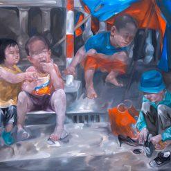Life Story, Vietnam Art Painting